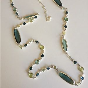 Charter Club Silver  w/ Crystal Accent necklace